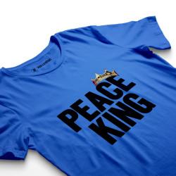 HH - Peace King Mavi T-shirt - Thumbnail