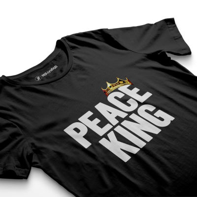 HH - Peace King Siyah T-shirt