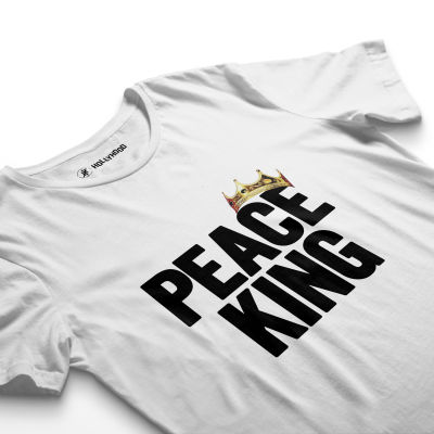 HH - Peace King Beyaz T-shirt