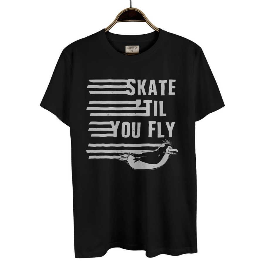 Bant Giyim - Penguen Siyah Erkek T-shirt