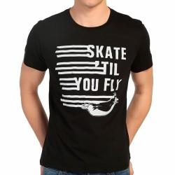 Bant Giyim - Penguen Siyah Erkek T-shirt - Thumbnail