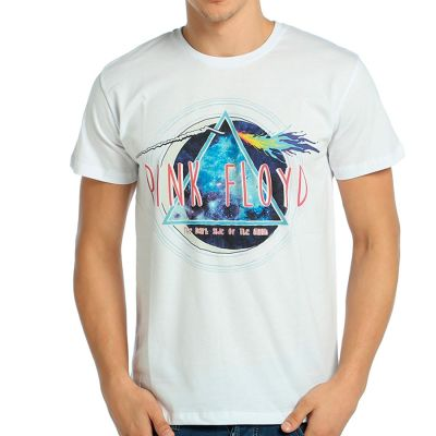 Bant Giyim - Pink Floyd The Dark Side Of The Moon Beyaz T-shirt