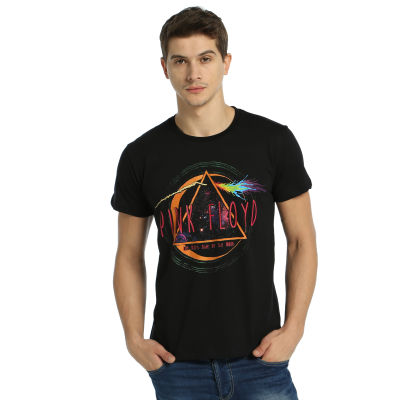 Bant Giyim - Pink Floyd The Dark Side Of The Moon Siyah T-shirt