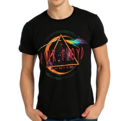 Bant Giyim - Pink Floyd The Dark Side Of The Moon Siyah T-shirt - Thumbnail