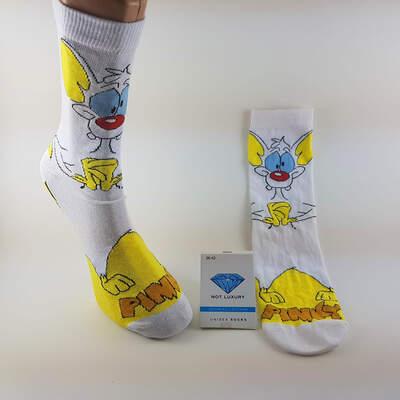 HollyHood - Pinky Beyaz Çorap