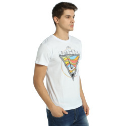 Bant Giyim - Piramit Beyaz T-Shirt - Thumbnail
