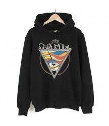 Bant Giyim - Piramit Siyah Hoodie - Thumbnail
