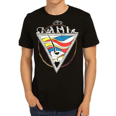 Bant Giyim - Piramit Siyah T-Shirt