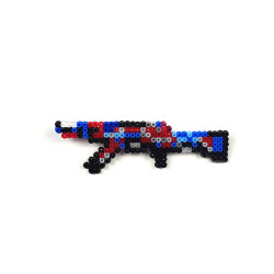 Pixel Art AK-47 Point Disarray Rozet - Thumbnail