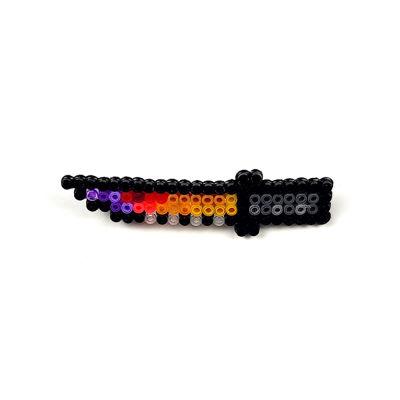 Pixel Art Bayonet Fade Rozet