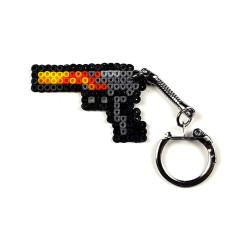 Pixel Art Desert Eagle Blaze Anahtarlık - Thumbnail
