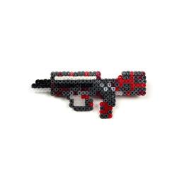 Pixel Art Famas Survivor Z Rozet - Thumbnail