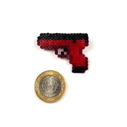 Pixel Art Glock-18 Candy Apple Rozet - Thumbnail