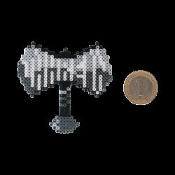 Pixel Art Jahrein Balta Rozet - Thumbnail