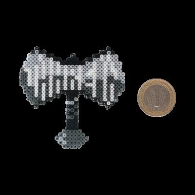 Pixel Art Jahrein Balta Rozet