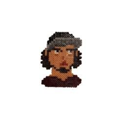HollyHood - Pixel Art Ezhel Anahtarlık