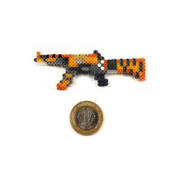 Pixel Art M4A4 Buzz Kill Rozet - Thumbnail