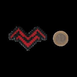 Pixel Art Mithrain Logo Rozet - Thumbnail