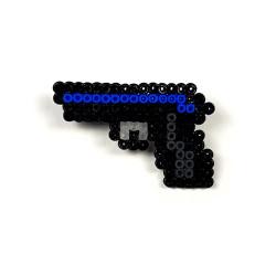 CS:GO - Pixel Art P2000 Oceanic Rozet