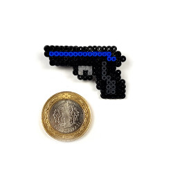 Pixel Art P2000 Oceanic Rozet - Thumbnail