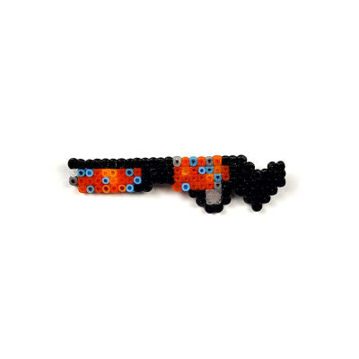 Pixel Art Sawed-Off the Kraken Rozet