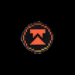 HollyHood - Pixel Art Wtcnn Logo Rozet