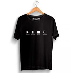 Groove Street - HollyHood - Groove Street Play Siyah T-shirt
