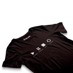 HH - Groove Street Play Siyah T-shirt - Thumbnail