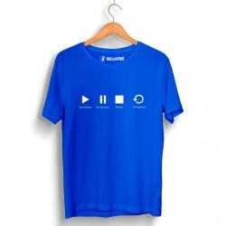 Groove Street - HollyHood - Groove Street Play Mavi T-shirt