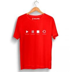 Groove Street - HollyHood - Groove Street Play Kırmızı T-shirt