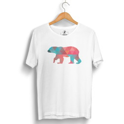 The Street Design - HH - Street Design Pole Bear Beyaz T-shirt