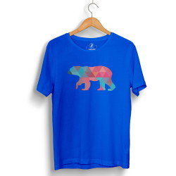 The Street Design - HH - Street Design Pole Bear Mavi T-shirt