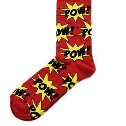 HollyHood - Pow Kırmızı Çorap
