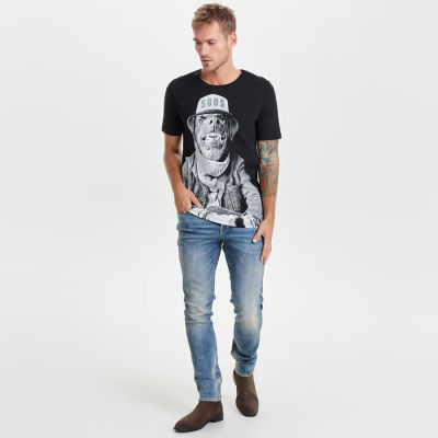 Only & Sons - Printed T-shirt
