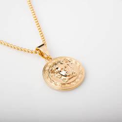 Versace Gold Kolye - Thumbnail