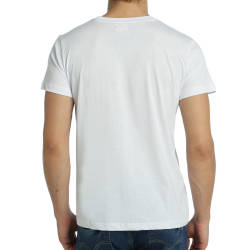 Bant Giyim - Follow White Rabbit Beyaz T-shirt - Thumbnail