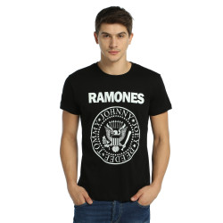 Bant Giyim - Ramones Siyah T-shirt - Thumbnail