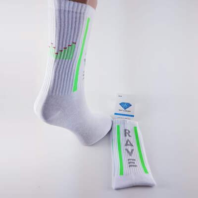 HollyHood - Rave Beyaz Çorap