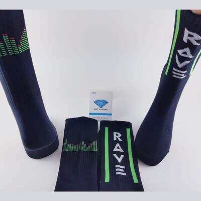 Rave Siyah Çorap