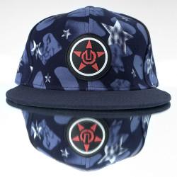 HollyHood - Red Star - Blue Hip Hop Snapback