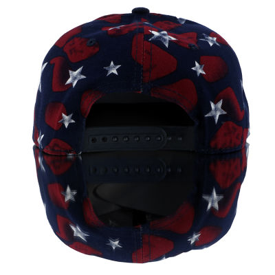 Red Star - Red and Blue Hip Hop Snapback Cap
