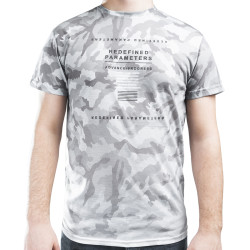 HollyHood - Redefined Parameters Camouflage Gri T-shirt