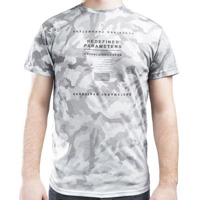 Redefined Parameters Kamuflaj Gri T-shirt
