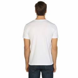 Bant Giyim - Rick And Morty Peace Among Worlds Beyaz T-shirt - Thumbnail