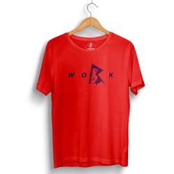 HollyHood - HollyHood - Rihanna Work Kırmızı T-shirt