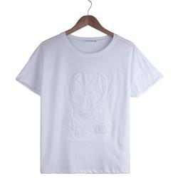 HollyHood - Rock & Love Kadın Beyaz T-shirt