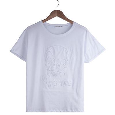 Rock & Love Kadın Beyaz T-shirt