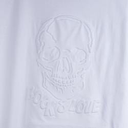 Rock & Love Kadın Beyaz T-shirt - Thumbnail