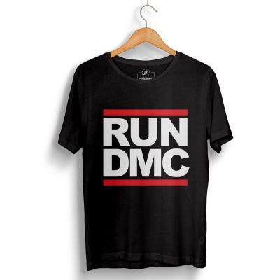 HollyHood - HH - Run Dmc Siyah T-shirt