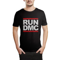 HH - Run Dmc Siyah T-shirt - Thumbnail